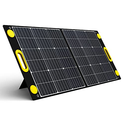 Togo Power 100W Portable Foldable Solar Panel Charger for Baldr/Jackery/GoalZero/Paxcess Power...
