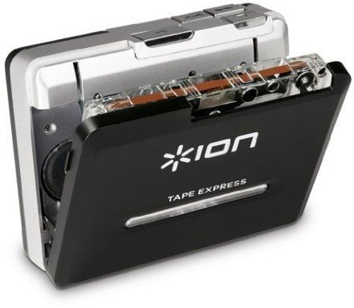 "ION Tape Express Plus | Cassette Player and Tape-to-Digital Converter with USB & 1/8"" Out"