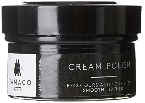 Famaco Cream Schuhcreme & Pflegeprodukte, Schwarz (Black), 50.00 ml