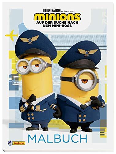 Minions - Auf der Suche nach dem Mini-Boss: Malbuch: Lustige Ausmalbilder zum neuen Film (Minions 2)