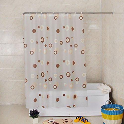 Rideaux de douche Rideau de douche imperméable à l'eau épaissie mildiou PEVA salle de bain Rideau salle de bain Rideau partition rideau Rideaux de douche de haute qualité (taille : 200*240cm)
