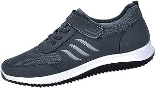 Riou Scarpe Piatto Uomo Respirabile Mesh Sportive All'aperto Sneakers con Lacci Scarpe da Escursionismo Unisex Morbida Ant...