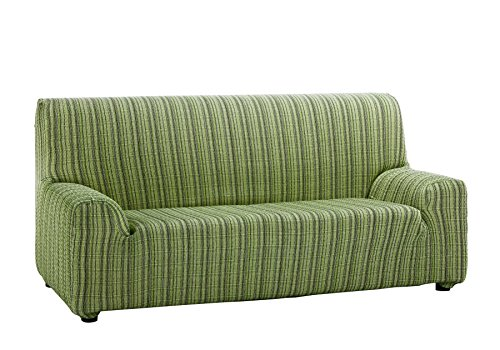 Martina Home Mejico - Funda de sofá elástica, Verde, 3 Plazas, 180 a 240 cm de ancho