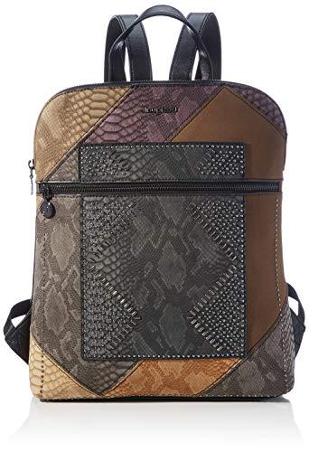 Desigual Accessories PU Backpack Medium, Mochila. para Mujer, marrón, U