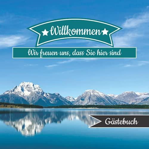 Gästebuch Für Ferienwohnung: für Hotel, AirBnB, Ferienwohnung, Bed an Breakfast, Gästehaus,...