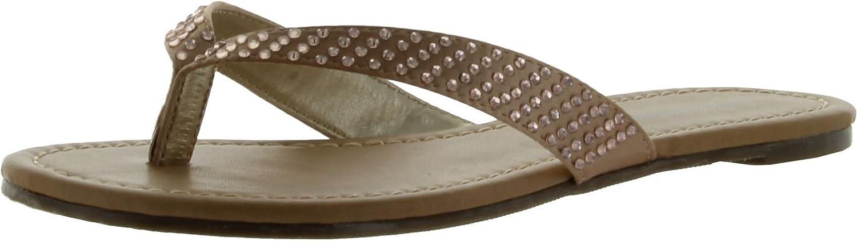 City Classified Womens Reveal Fashion Womens Flip Flop Sandals