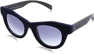 نظارة شمس بعدسات شكل عين القطة ازرق متدرج للنساء من ايطاليا انديبندنت - كحلي