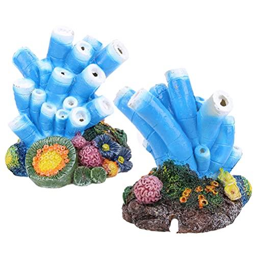 ueetek aria bolla pietra KORALLEN ossigeno pompa acquario Fish Tank Ornamento Decorazione
