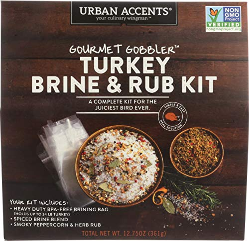 Urban Accents, Spice Blend Gourmet Gobbler Turkey Kit, 12.75 Ounce