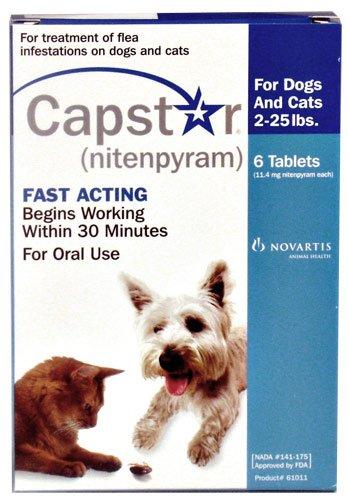 Novartis Novartis Capstar Flea Treatment Blue Tabs For Dogs And Cats