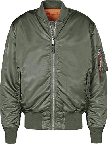 Chaqueta, Verde (Vintage Green 432), Large (Tamaño del Fabricante: L) para Hombre