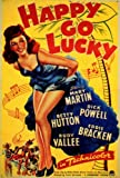 """poster for the movie """"Happy Go Lucky"""""""