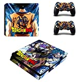 YISHO PS4 Slim Skin Sticker for Playstation 4 Console and Controllers Decal PS4 Slim Sticker Vinyl (YSP4S-3374)