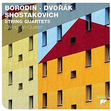 Borodin, Dvorak & Shostakovich String Quartets