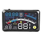 Universal 5.5 inch Car Hud Heads Up Display, Universal F4 MPH Over Speed