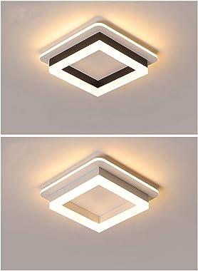 Flush LED De Montaje En Techo De Luz, Techo Moderna Plaza De Luz LED, Blanco Fresco De Techo Lámparas Para La Cocina Pasillo