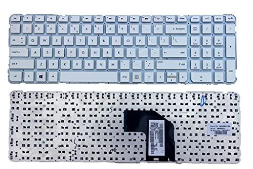 Nuevo teclado estadounidense blanco sin marco para HP Pavilion G6-2000 G6-2031TU g6-2323dx g6-2330dx g6-2342dx g6-2346nr g6-2361nr R36 G6-2205SA G6-2210EA G6-2210SA Serie P / N SG-55110-XUA AER36U0032