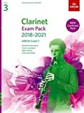 Clarinet Exam Pack 2018-2021, ABRSM Grade 3: Selected from the 2018-2021 syllabus. Score & Part, Audio Downloads, Scales & Sight-Reading (ABRSM Exam Pieces)