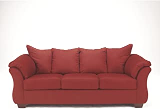 Admirable Amazon Com Red Sofas Couches Living Room Furniture Short Links Chair Design For Home Short Linksinfo