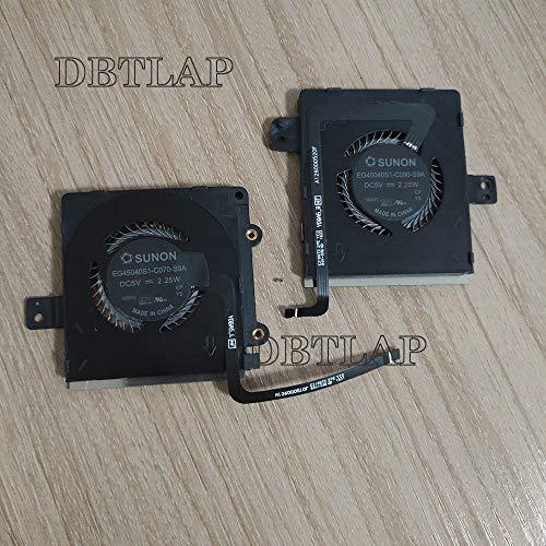DBTLAP Kühlung Lüfter Kompatibel für Lenovo Yoga 5 Yoga5 pro Yoga 910 CPU-Lüfter Kühler EG45040S1-C090-S9A EG45040S1-C070-S9A AVC