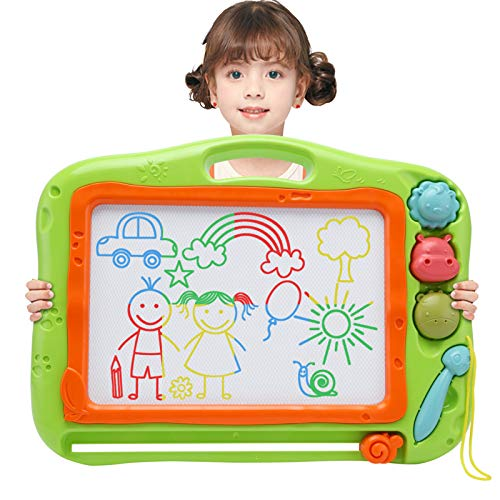 Toys for 2-3 Year Old Girls Boys,Magnetic Drawing Doodle Board for Kids, Toddler Toys for 2 3 4 5 Year Old Girls Boys,Large Etch A Magnet Sketch