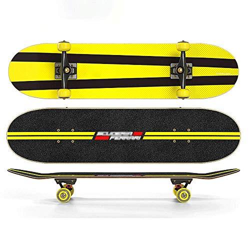 Anfänger Beruf Erwachsener Junges Kind vor der Pubertät All-Around Short Board Doppel Tilt 31-Zoll-Vierrad-Roller, Skateboard QIANGQIANG