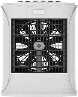 Wencaimd Ventilador Enfriador Aire Personal Mini Aire Acondicionado Silencioso de la Bruma Evaporativo Humidificador Refrigeración Aroma Difusor Con USB Recargable para Hogar Oficina Habitación