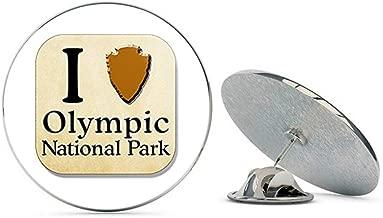 NYC Jewelers I Heart Arrowhead Olympic National Park (Love Travel Hike rv) Metal 0.75