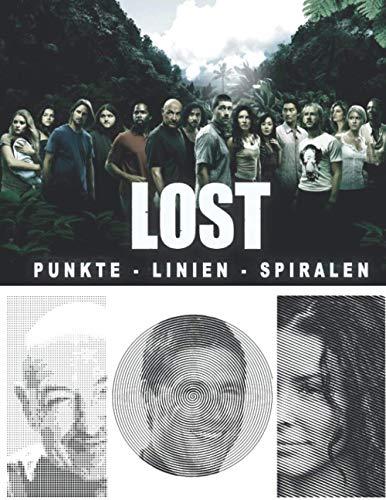 Lost Punkte Linien Spiralen: Neue Art von Malbuch für Erwachsene mit Anti Stress Wirkung