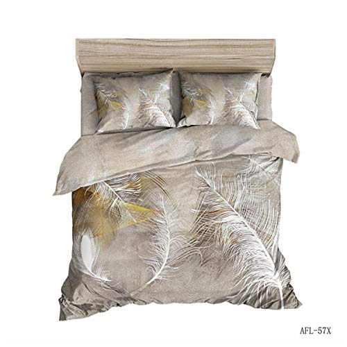 Lowest Price! Goldrui Summer Bedding Pillowcase Sets Fashion Print, Standard Size 2 Piece