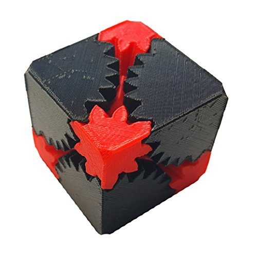 3D Central - Brain Teaser Cube Gear 3D Printed