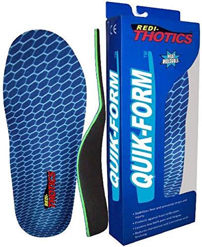 Redi-Thotics Quik-Form Heat Moldable Insoles (B - Men's 7-7.5 / Women's 8-8.5)