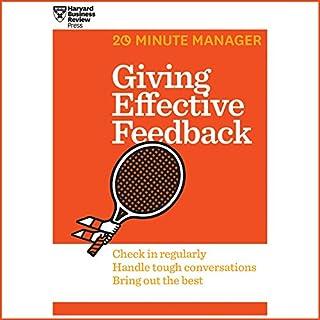 Giving Effective Feedback cover art