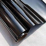 FENTIS Pellicole per vetri Pellicola Specchio Oscurante per Finestre Pellicola Elettrostatica a Senso Unico a Superficie di Effetto 45 * 200cm