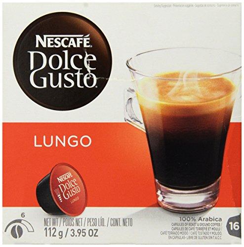 Dolce Gusto Caffé Lungo 112g c/ 16 Cápsulas - Nescafé