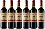 Señorío de los Llanos Crianza - Vino Tinto D.O Valdepeñas - Pack de 6 Botellas x 750 ml