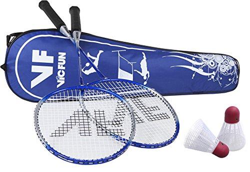 VICFUN Advanced 796/2/2 Ensemble de Badminton Bleu...