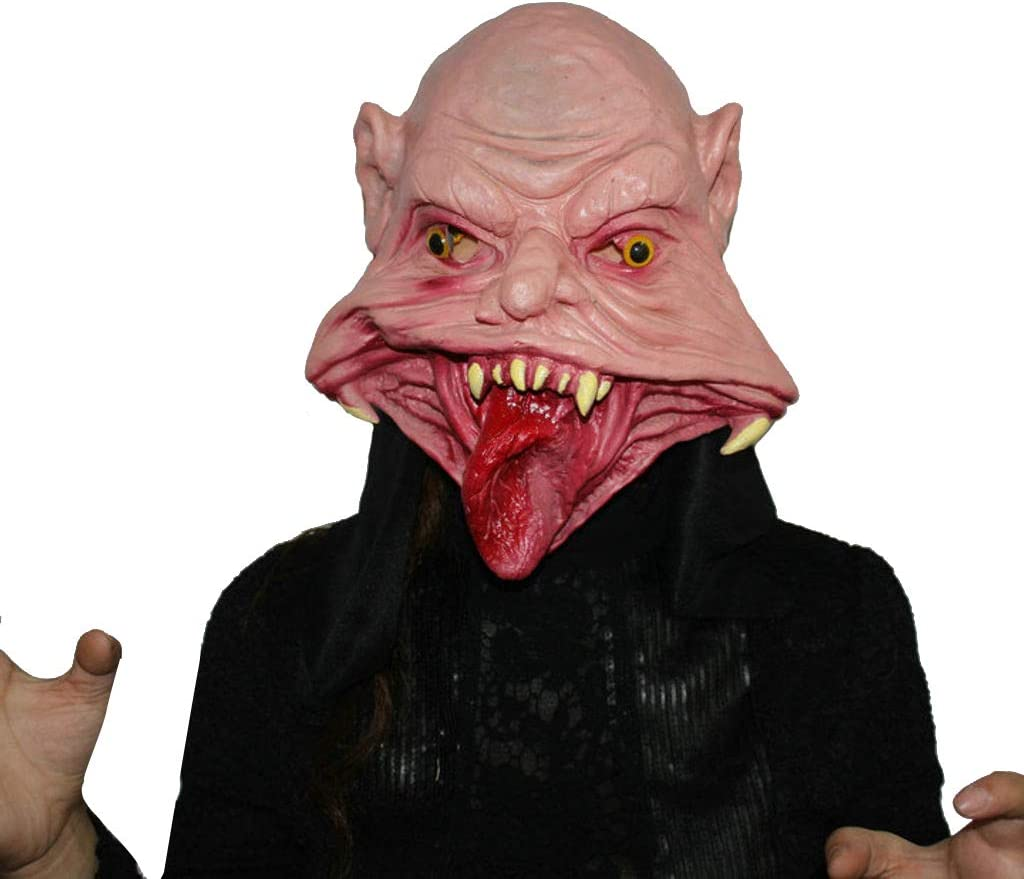 Indianapolis Mall ZHFEL Horror Mask Halloween Unisex New product! New type P Masks Costume Rubber Props