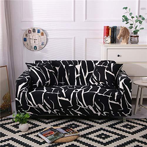 Fundas elásticas para sofás para Living Roon It Needs Ordene 2 Piezas Funda para Silla de sofá si su sofá es seccional en Esquina Longue en Forma de L A27 4 plazas