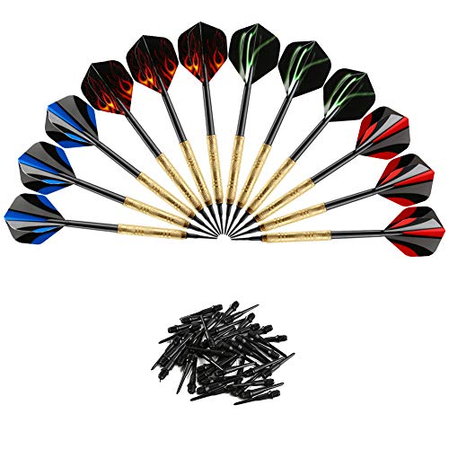 Accmor 12 Pcs Darts Plastic Tip, Soft...
