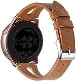 Reloj de Correa Cuero Compatible con Honor MagicWatch2 46mm / Watch GS Pro/Magicwatch, Hombre Repuesto La Correa (22mm, Pattern 1)