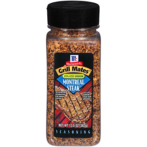 McCormick Grill Mates Montreal Steak Seasoning 382g (Gewürzmischung für Steak & Burger)