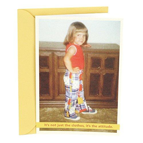 Hallmark Shoebox Funny Birthday Card (It's The Attitude)