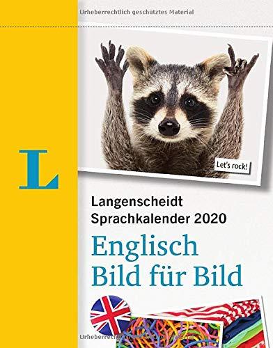 Langenscheidt Sprachkalender 2020 Englisch Bild für Bild - Abreißkalender