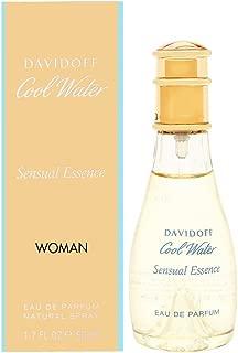 Zino Davidoff Cool Water Sensual Essence Eau de Parfum Spray for Women, 1.7 Ounce