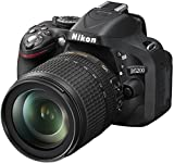 Nikon D5200 + AF-S DX 18-140 VR - Cámara Digital (24.1 MP, SLR Kit, CMOS, 18-140 mm, 5.6, 3.5) Negro
