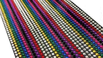 CraftbuddyUS Ranking TOP6 1500 x 5mm depot Self Individual Rhinestones Adhesive Gem