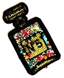 2.5X4.25 INCH Perfume Bottle No 5 Patch for Women Sexy Lady Diamond Jewelry Kid Embroidered Iron On/Sew On Patch Logo for Clothes Bag T-Shirt Jeans Biker Badge Applique (Fantasy Cartoon 013)