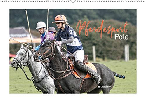 Pferdesport Polo (Wandkalender 2021 DIN A2 quer)
