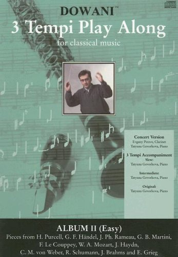 Album Vol II for Clarinet in Bb & Piano (Dowani 3 Tempi Play Along for Classical Music)